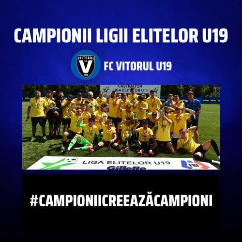 VIDEO / Viitorul a câștigat Liga Elitelor, după o finală-thriller cu Dinamo