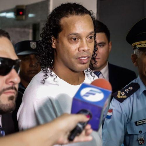 Ronaldinho, eliberat din pușcărie de autoritățile din Paraguay