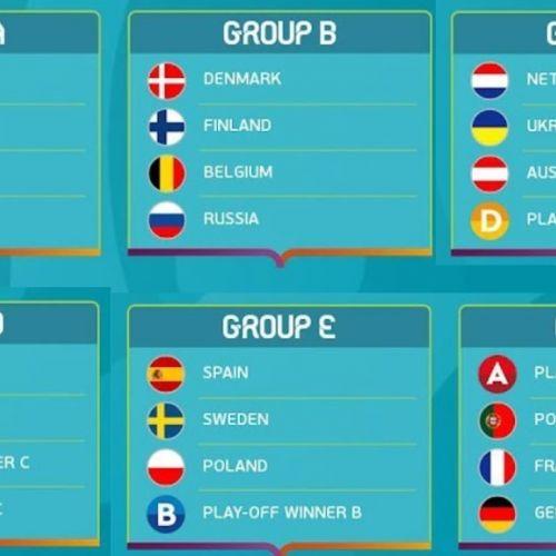 EURO 2020. Programul meciurilor de la Campionatul European