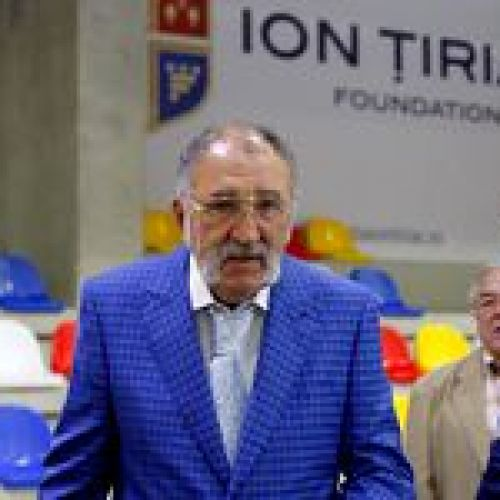 Țiriac renunță la funcția de președinte al FR Tenis