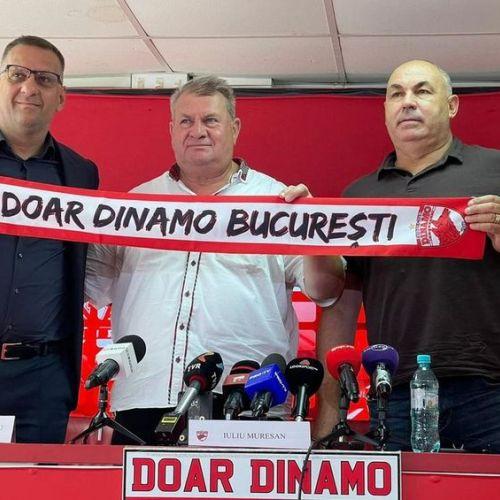 Iuliu Mureșan, prezentat ca director executiv la Dinamo