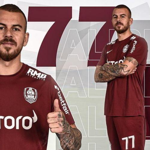 OFICIAL: Alibec, transferat de CFR Cluj