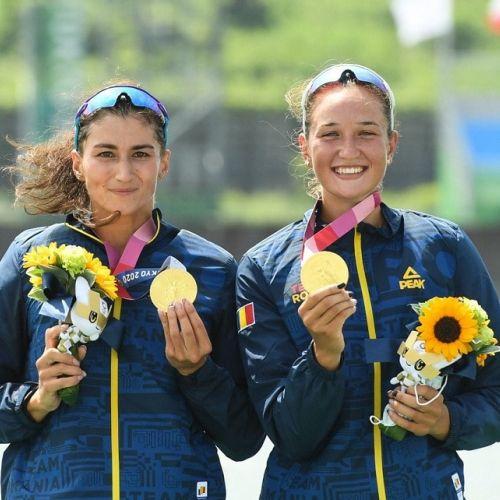 VIDEO / Primul aur românesc la Tokyo. Ancuţa Bodnar şi Simona Radiş, campioane olimpice la dublu vâsle