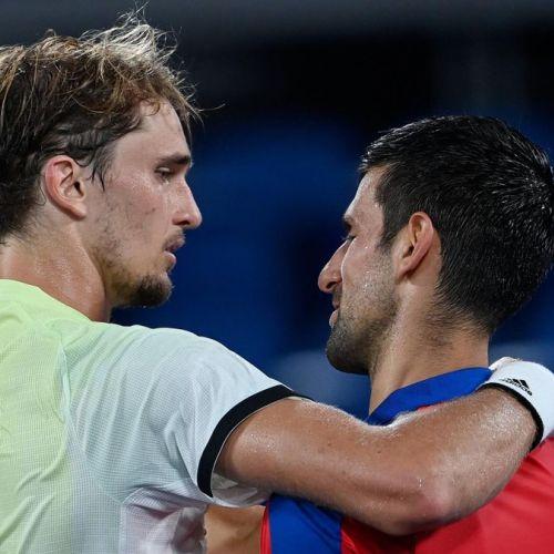 Djokovic, eliminat de la Jocurile Olimpice. Zverev și Hacianov se bat pentru aur