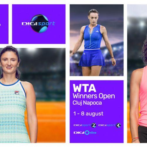 Winners Open, turneul feminin găzduit de Cluj-Napoca, va fi televizat de Look Sport și Digi Sport