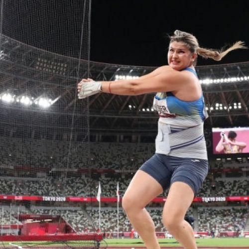 Bianca Perie Ghelber, locul 6 la Jocurile olimpice, la aruncarea ciocanului