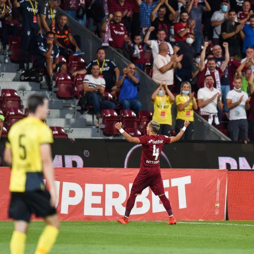 CFR Cluj, egalată în prelungiri de Young Boys în Liga Campionilor