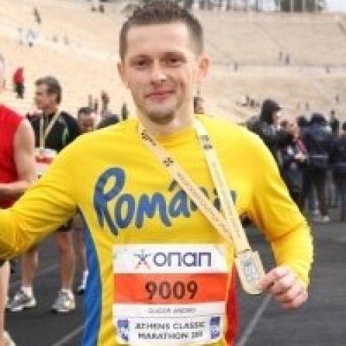 Andrei Gligor aleargă în Sahara pentru Inima Copiilor