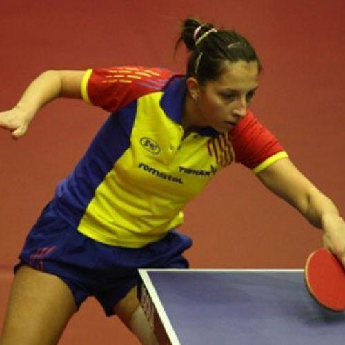 Elizabeta Samara, cea mai bună jucătoare de tenis de masă din România în 2013